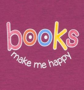 Books Make Me Happy Heathered Heliconia Closeup