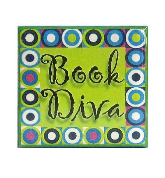 book diva pin lime
