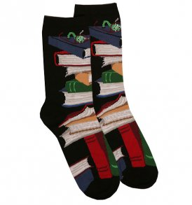 books socks black