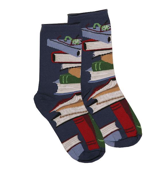 books socks navy