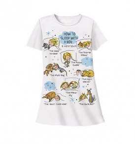 how to sleep with a dog sleep shirt