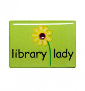 library-lady-pin-lime