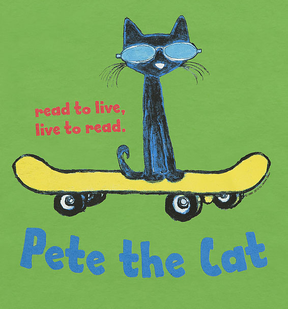 pete the cat closeup lime