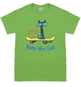 read to live live to read pete the cat t-shirt