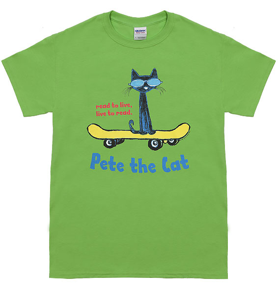 read to live live to read pete the cat t shirt pete the cat apparel