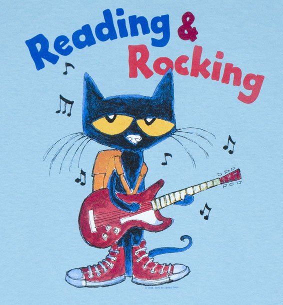 reading rocking pete the cat t shirt pete the cat apparel