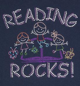reading-rocks-sparkle-tshirt-blue-closeup