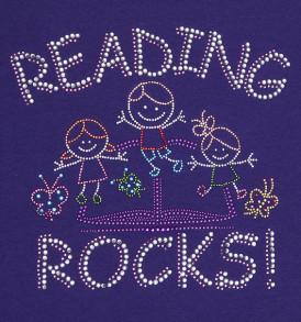 reading-rocks-sparkle-tshirt-purple-closeup