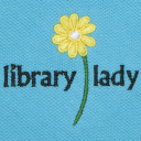 short sleeve embroidered library lady polo aqua closeup