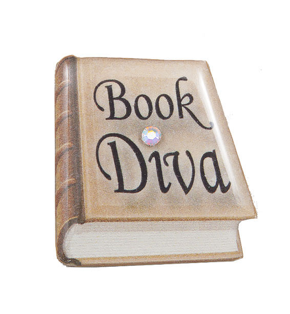 book diva pin