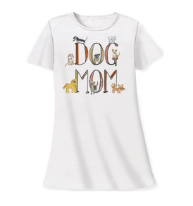 dog mom sleep shirt