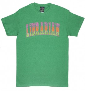 Librarian Geometric Heathered Green