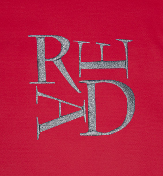 Polo Scrabble READ Red Closeup