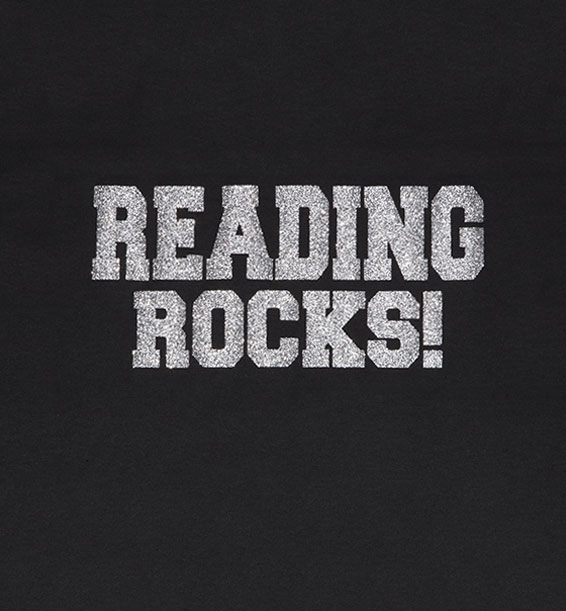 Reading Rocks Black Closeup