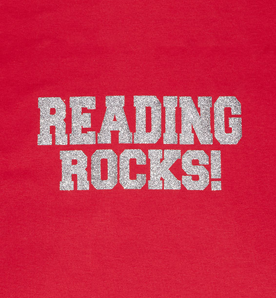Reading Rocks Red Closeup
