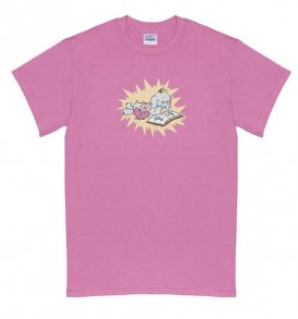 piggie-and-elephant-mo-willem-tshirt-pink