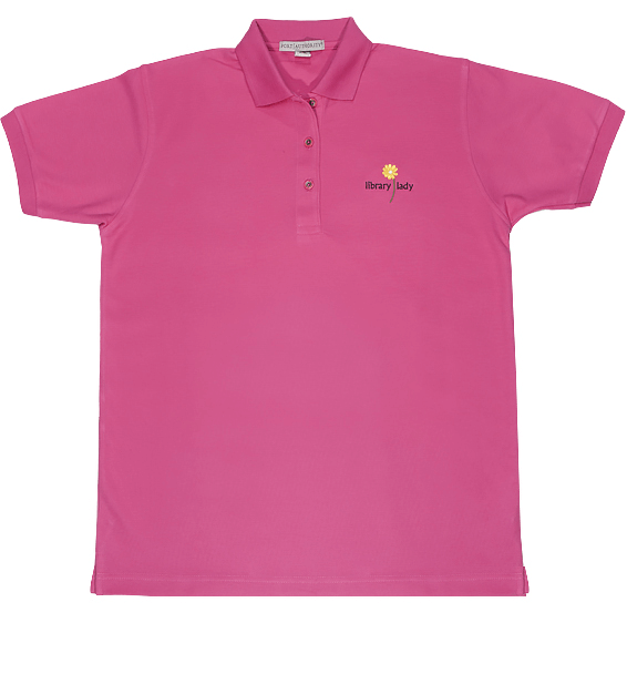 pink-polo with flower