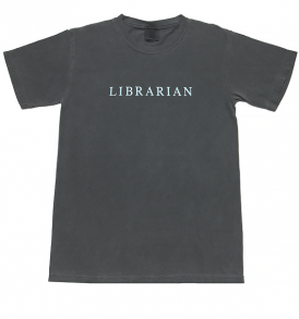 librarian-gray-tshirt-front