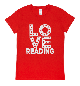 love reading tshirt