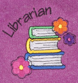 Librarian Flowers Heathered Pink