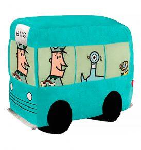 Pigeon Bus Pillow