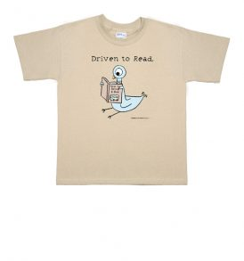 """Driven To Read"" Pigeon Youth T-Shirt"