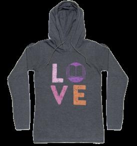 love-hoodie-gray