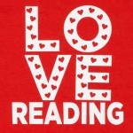 love reading tshirt closeup