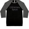 librarians rock baseball sports jersey