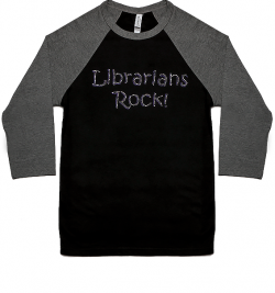librarians rock baseball sports jersey