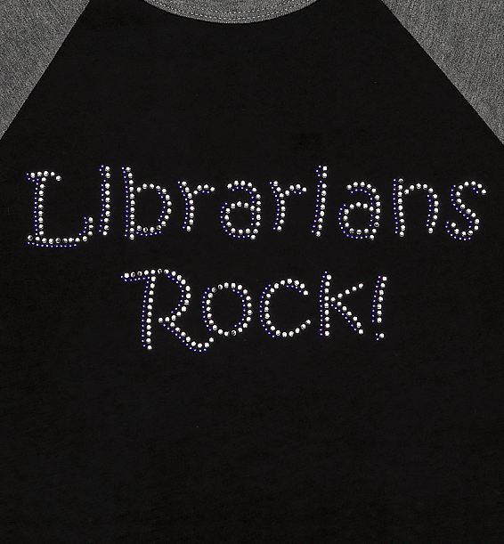 librarians rock baseball sports jersey design