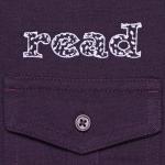 Read embroidery closeup