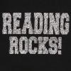 Reading Rocks Ladies Lightweight Full-Zip Hoodie Black