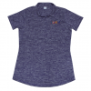 daisy read heathered polo electric purple