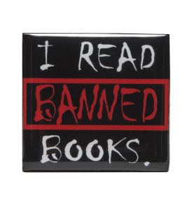 i read banned books pin