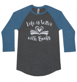 life is better with books open book
