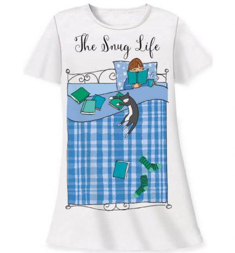760 the snug life sleepshirt