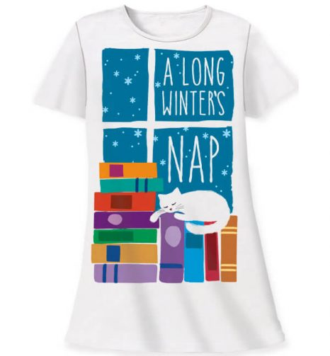 761 long winters nap sleepshirt